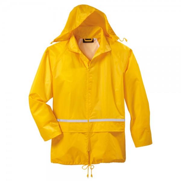 riesiges Inventar Niedriger Verkaufspreis Wählen Sie für neueste Regenjacke Basic – gelb