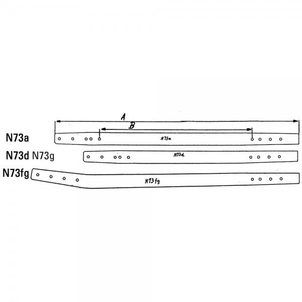 Treibstangenholz N73D passend zu Mörtl