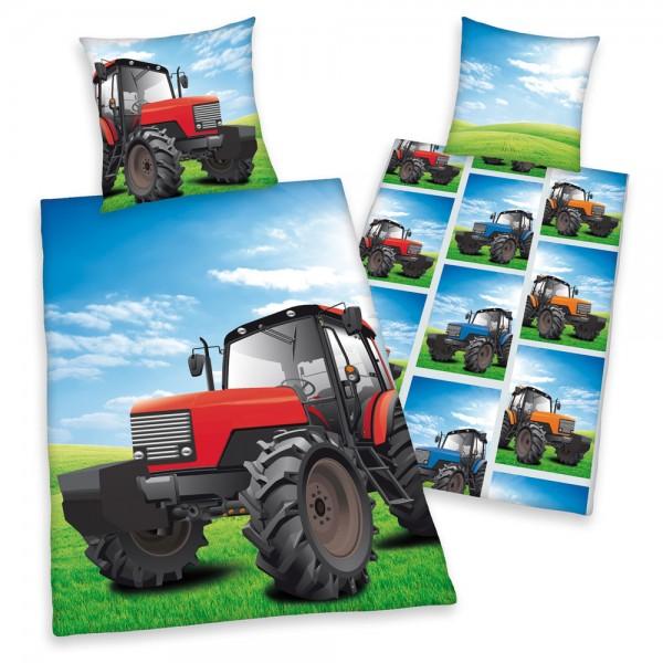 bettw sche traktor spielzeug kindersachen im faie shop. Black Bedroom Furniture Sets. Home Design Ideas