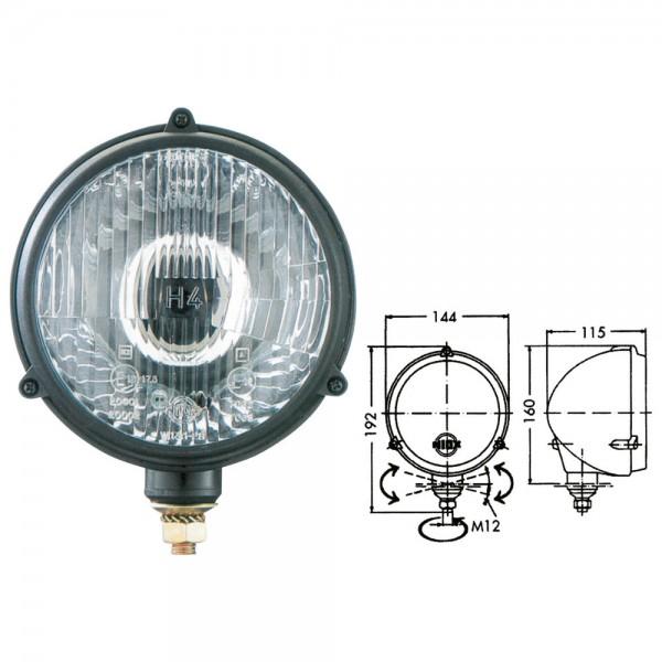 Hauptscheinwerfer NIOX W133, H4