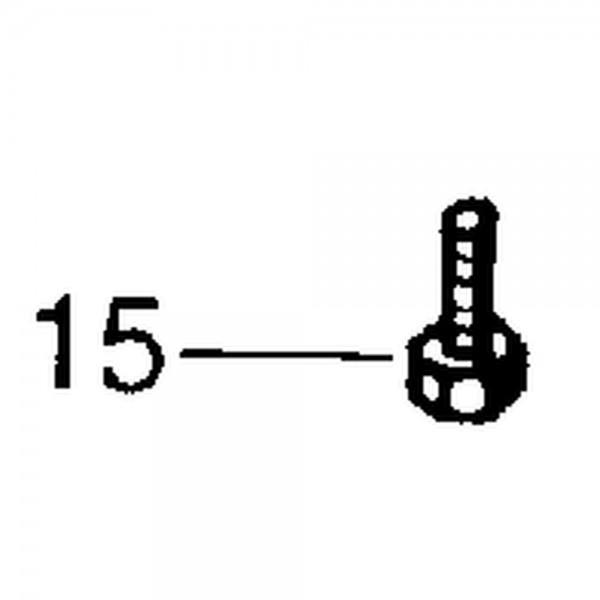 Messerkopfschraube M8x18 Ripp