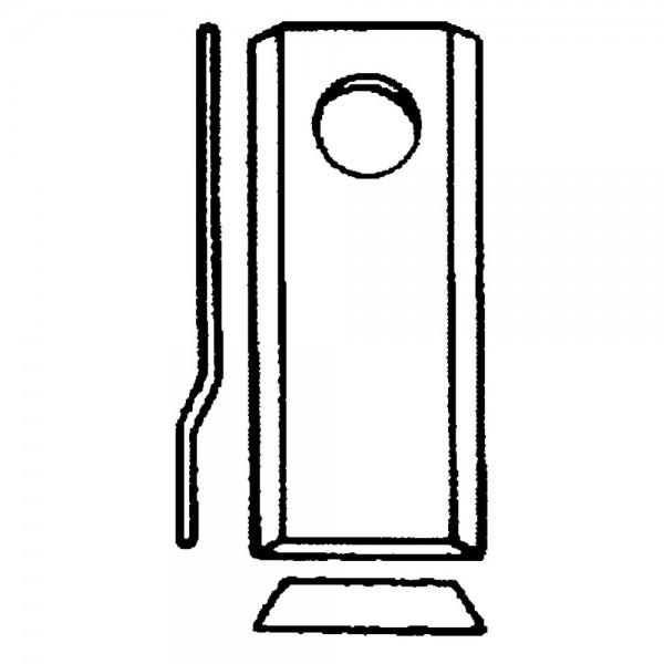 Scheibenmäherklinge passend zu Deutz-Fahr, Niemeyer, Pöttinger, PZ-Zweegers