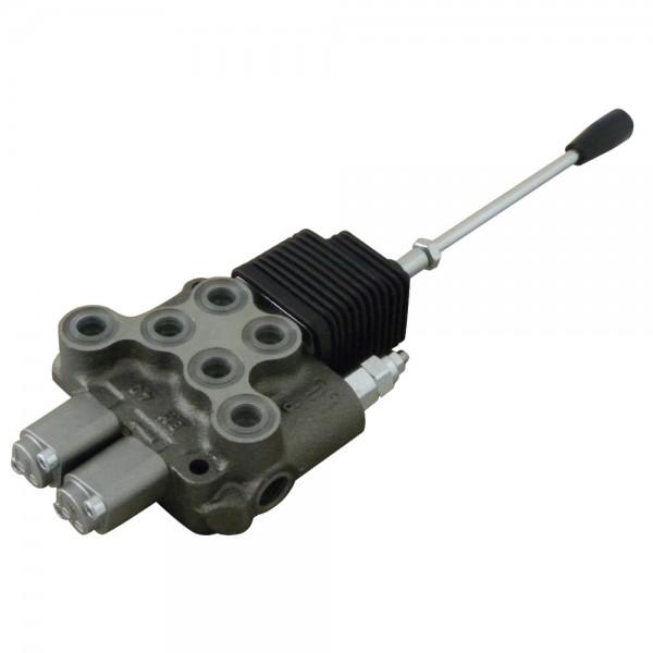 Steuerventil BM40/2 DW/DW mit Joystick