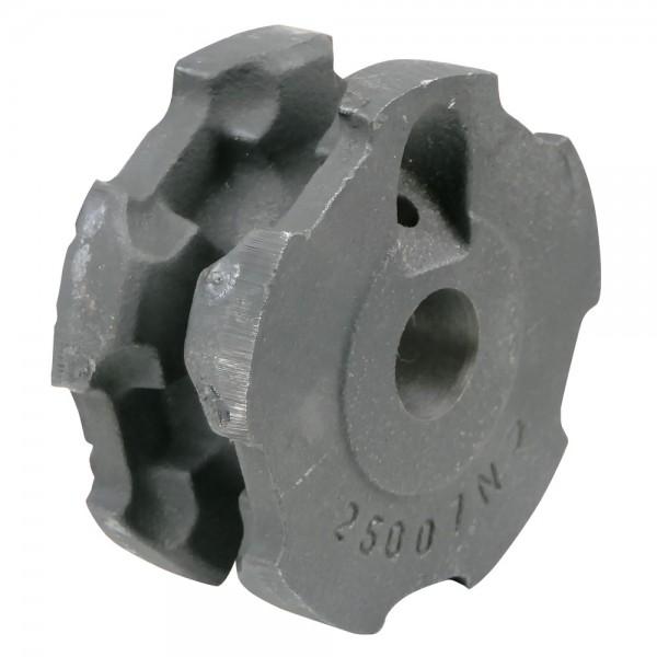 Umlenkrolle 8x31 offen, Bohrung Ø25mm, Außen-Ø110mm