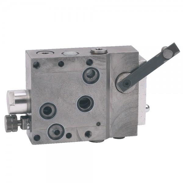 Zusatzsteuergerät zu Bosch-Hydraulik SB9 mit Vierlochflansch