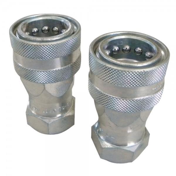 """Steckkupplung Muffe BG3 DN13 mit 1/2"""" IG - Doppel-SPAR-Packung"""