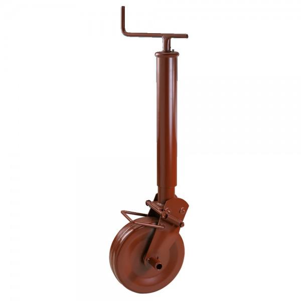 Stützrad mit Stahlblechrad